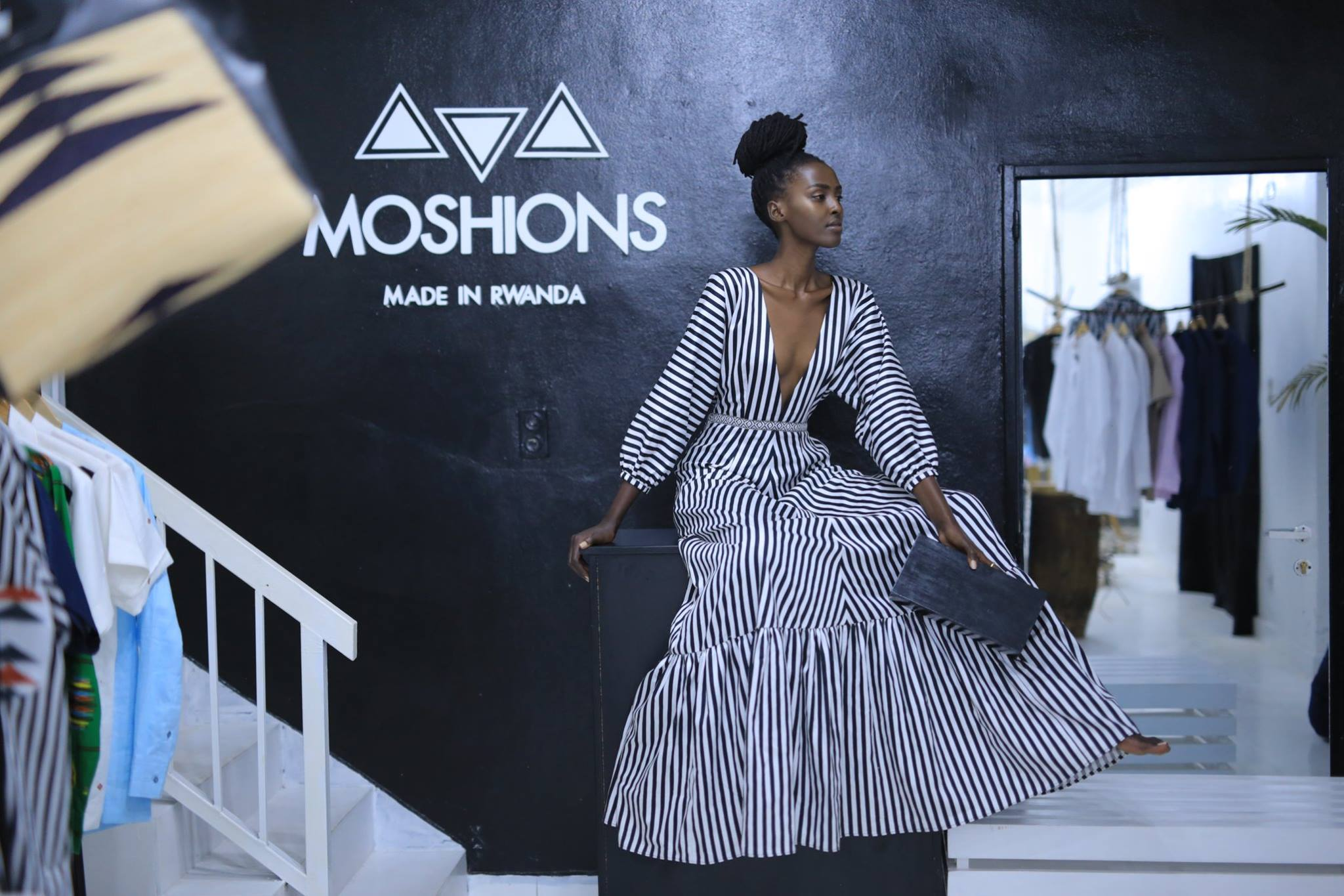 Established in 2015, as one of Rwanda's leading fashion houses, Moshions is an elegant culturally inspired brand, sought after by discerning African...